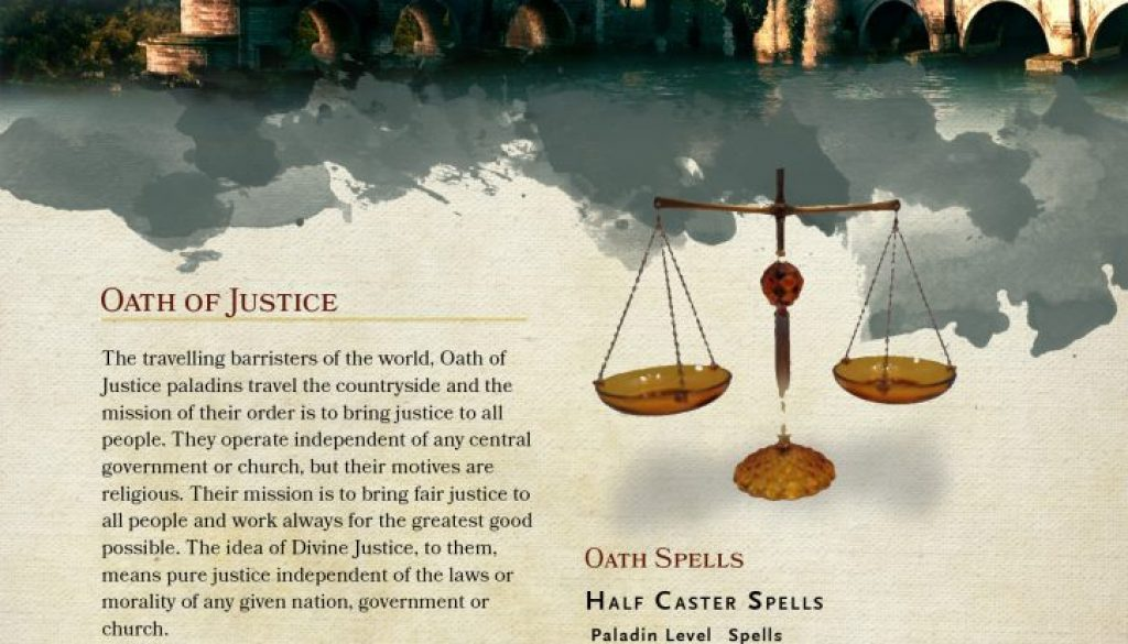 Paladin Oath of Justice FriarTuk p1