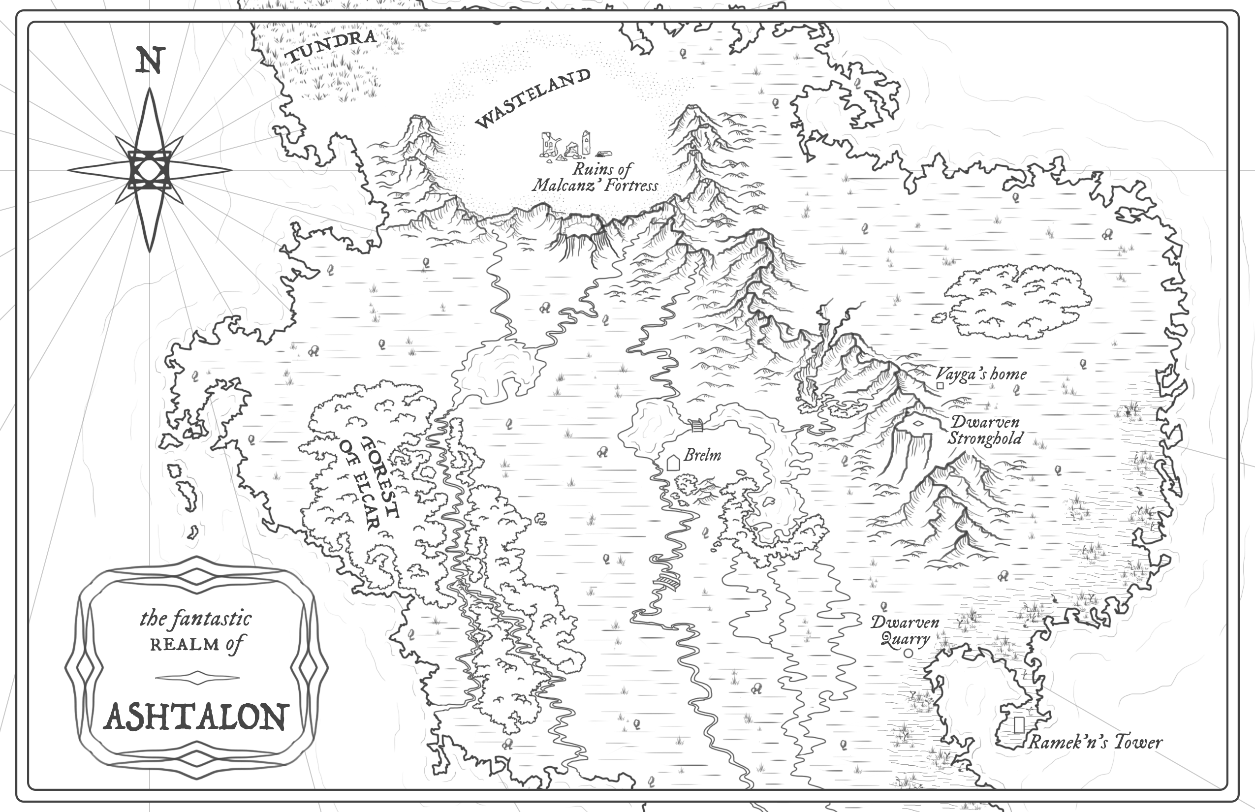 Ashtalon B&W map final