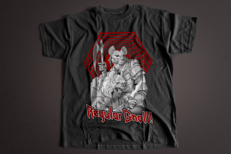 """Regular Gnoll!"" Short-Sleeve T-Shirt"