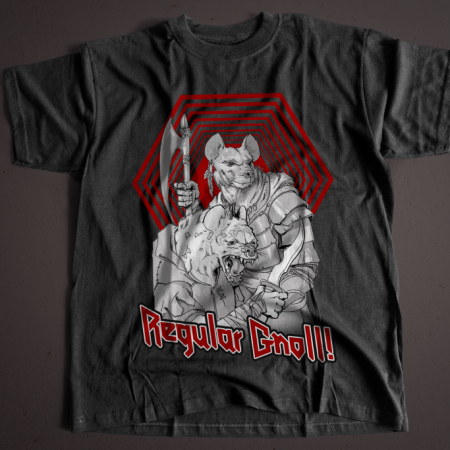 """Regular Gnoll!"" Short-Sleeve T-Shirt"