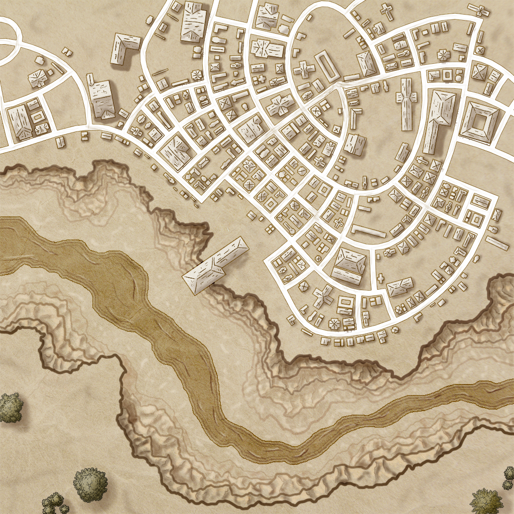 Weird City Map Thing Finished
