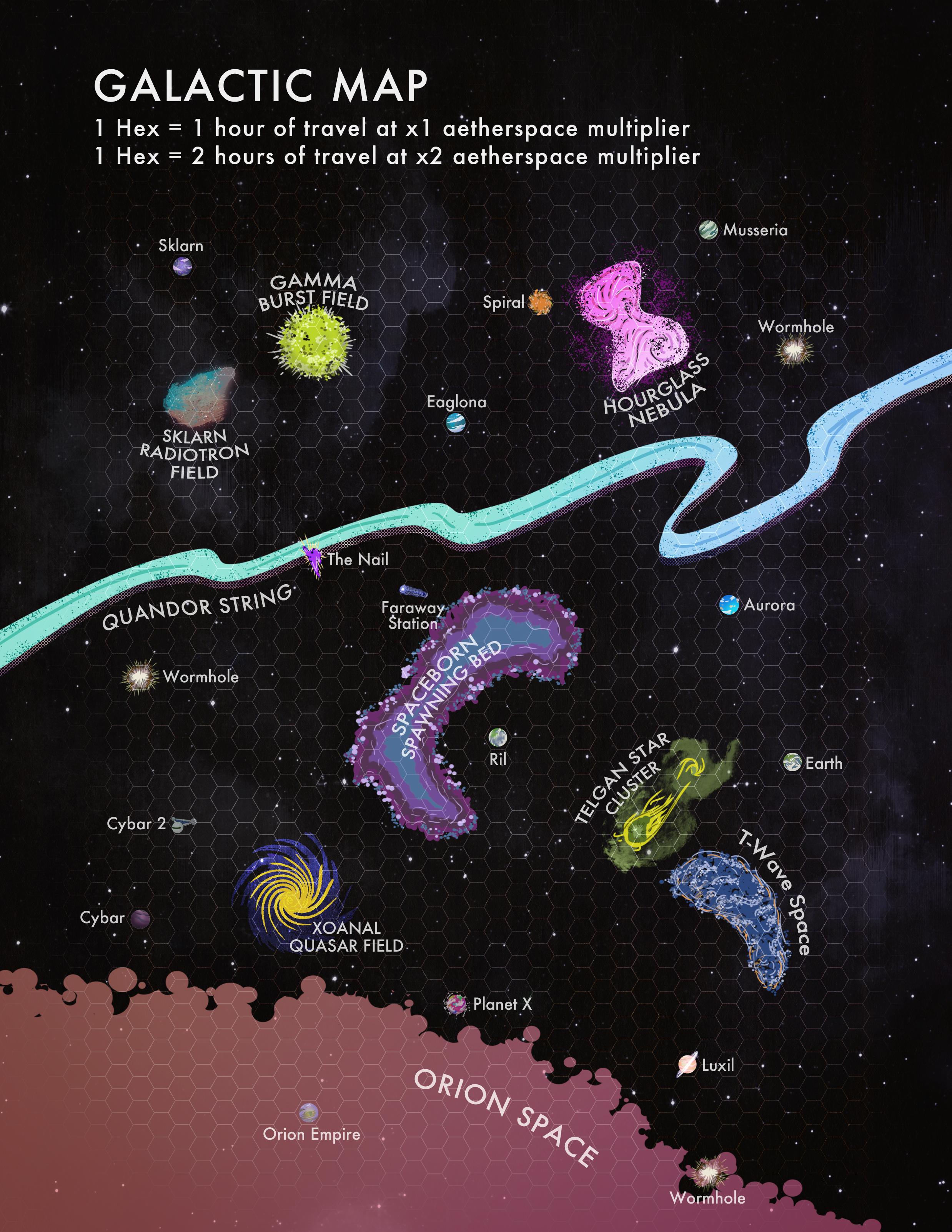 Galactic Map Final Draft - GM Version