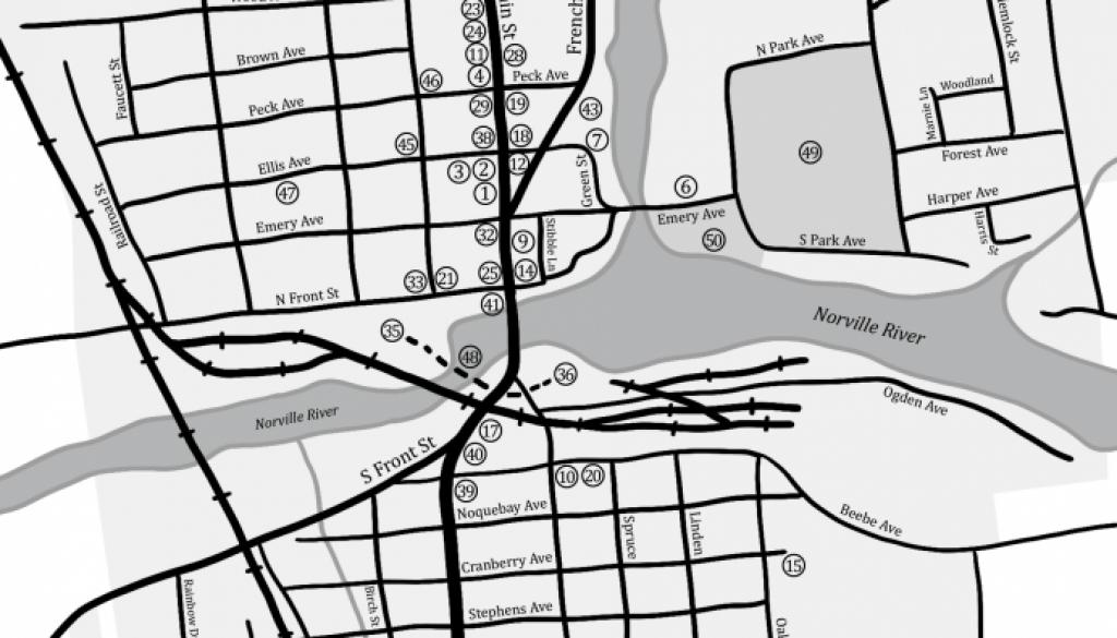 Peshtigo Map